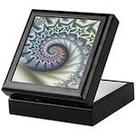 Star Spangled Spiral Keepsake Box