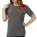 Metal Horns Womens Comfort Colors Shirt
