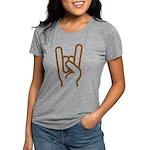 Metal Horns Womens Tri-blend T-Shirt