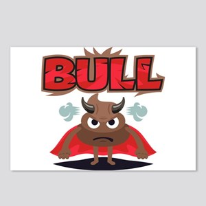 Emoji Bull Shit Postcards (Package of 8)