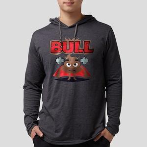 Emoji Bull Shit Mens Hooded Shirt