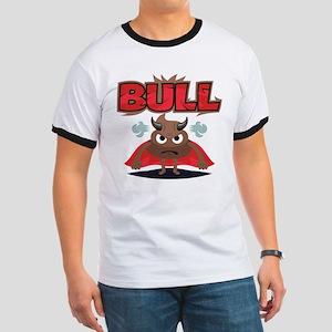 Emoji Bull Shit Ringer T