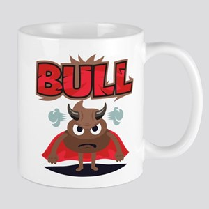 Emoji Bull Shit 11 oz Ceramic Mug