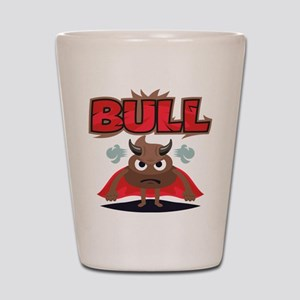 Emoji Bull Shit Shot Glass