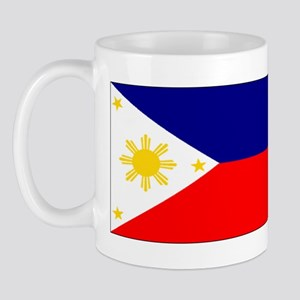 Filipino Pilipinas Blank Flag Mug