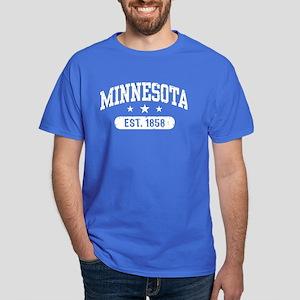 Minnesota Est. 1858 Dark T-Shirt