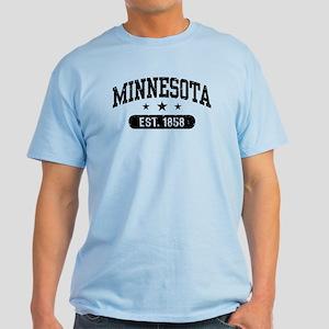 Minnesota Est. 1858 Light T-Shirt