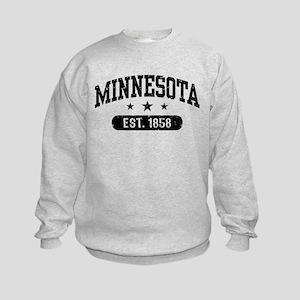Minnesota Est. 1858 Kids Sweatshirt