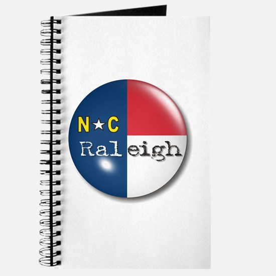 Raleigh North Carolina Flag Journal