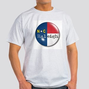Raleigh North Carolina Flag Light T-Shirt