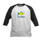 I'm a Keeper - Cute Fish T-Sh Kids Baseball Jersey
