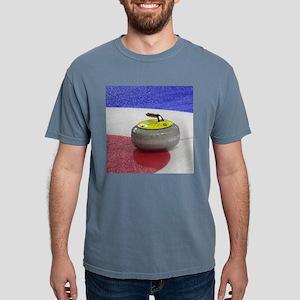 Curling stones 2 Mens Comfort Colors Shirt