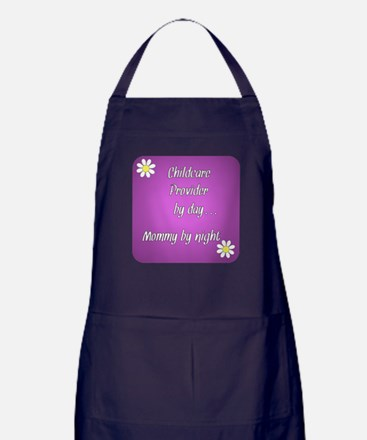 Childcare Provider by day Mommy by night Apron (da