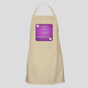 Childcare Provider by day Mommy by night Apron