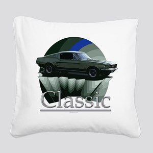 67 ford mustang Square Canvas Pillow