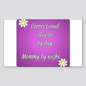 Correctional Officer by day Mommy by night Sticker