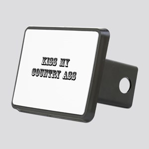 Kiss My Country Rectangular Hitch Cover