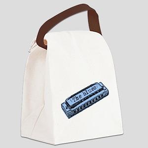 blues Canvas Lunch Bag