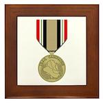 Iraq Campaign Framed Tile