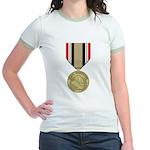 Iraq Campaign Jr. Ringer T-Shirt