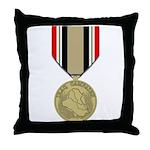 Iraq Campaign Throw Pillow