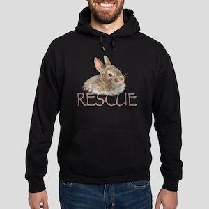 bunny rescue Hoodie (dark)