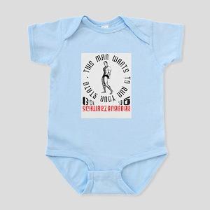 Schwarzenegger Infant Creeper