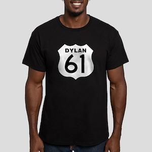 Dylan 61 Men's Fitted T-Shirt (dark)