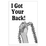 I Got Your Back Large Poster