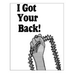 I Got Your Back Small Poster