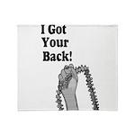 I Got Your Back Throw Blanket