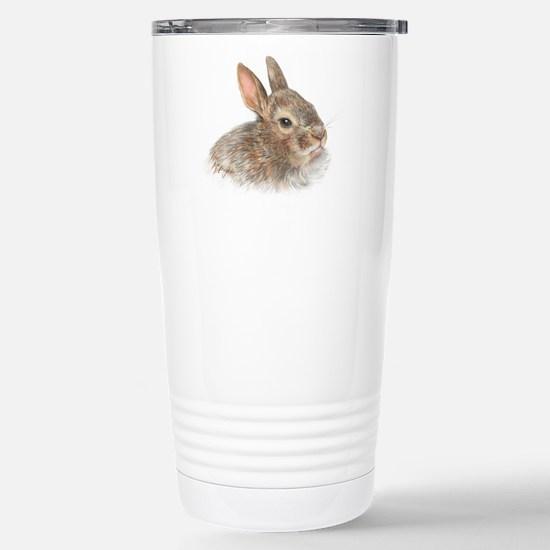 bunny Stainless Steel Travel Mug