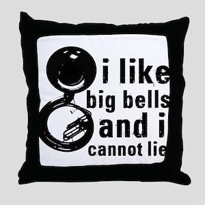 Big Bells Throw Pillow