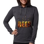 Beer Womens Hooded Shirt
