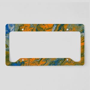 Topographie concepteur 1 License Plate Holder