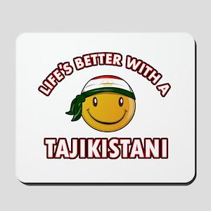 Lifes better with a Tajikistani Mousepad
