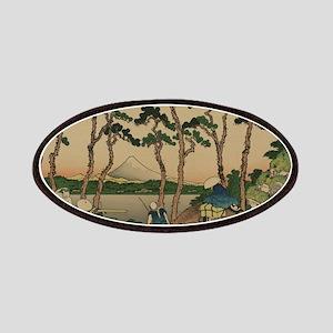 Tokaido hodogaya - Hokusai Katsushika - 1890 Patch