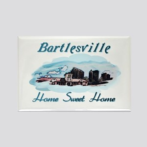 Bartlesville Home Sweet Home Rectangle Magnet