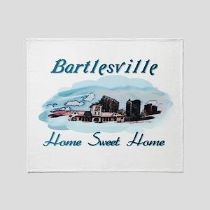 Bartlesville Home Sweet Home Throw Blanket