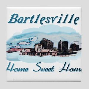 Bartlesville Home Sweet Home Tile Coaster