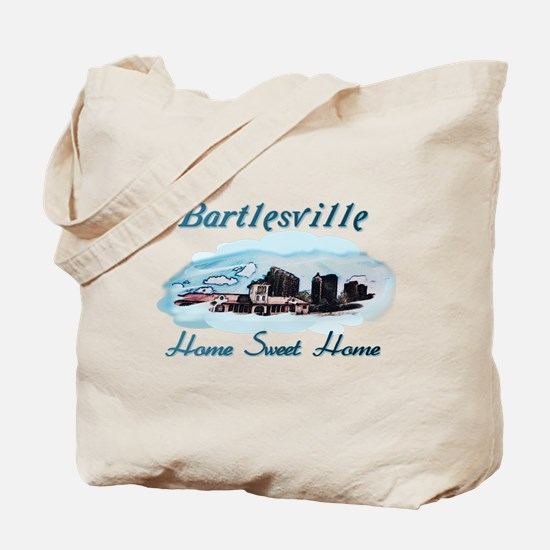Bartlesville Home Sweet Home Tote Bag