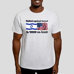 United against terror! Ash Grey T-Shirt