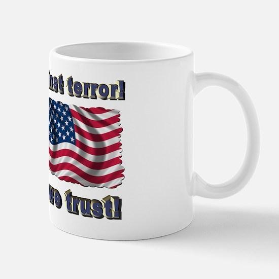 United against terror! Mug