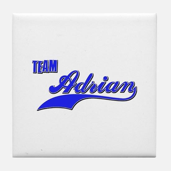 Team Adrian Tile Coaster