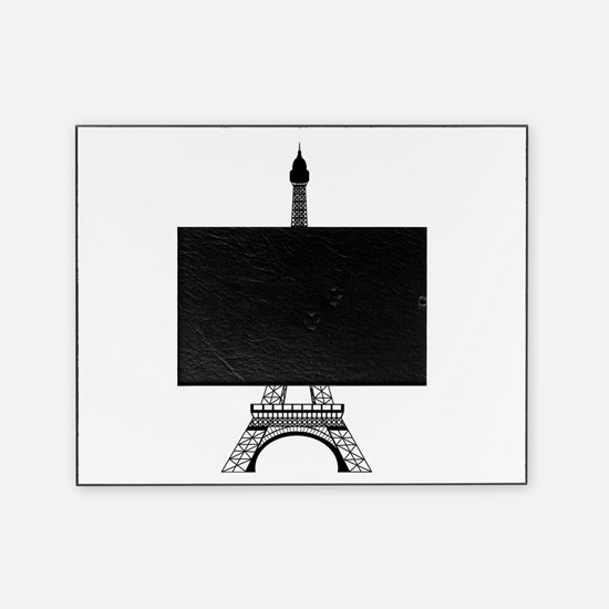 Eiffel Tower Black Picture Frame