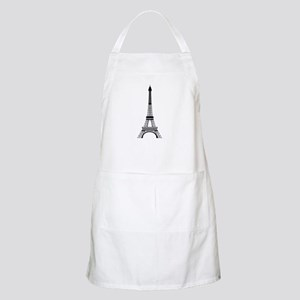Eiffel Tower Black Apron