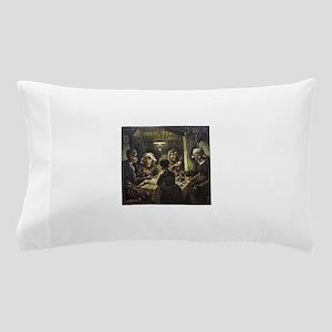 The Potato Eaters Pillow Case