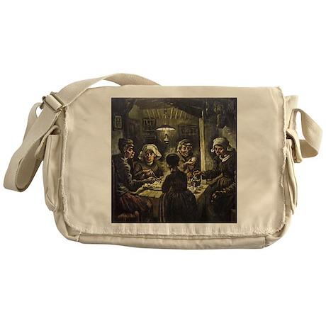 The Potato Eaters Messenger Bag