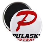 Pulaski Football Magnet