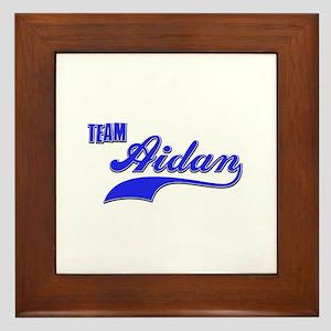 Team Aidan Framed Tile